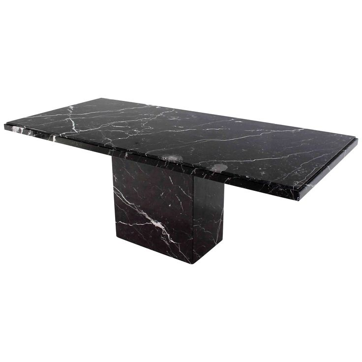 View This Item And Discover Similar Dining Room Tables For Sale At   Very  Nice Rectangular Black Marble Dining Table.