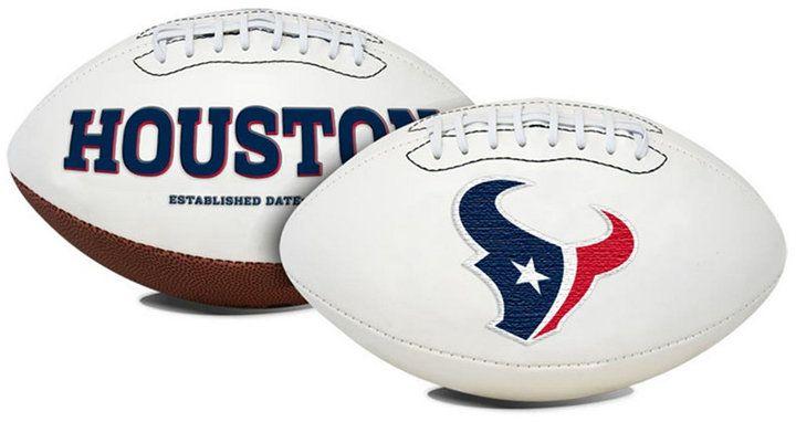 Jarden Houston Texans Signature Series Football
