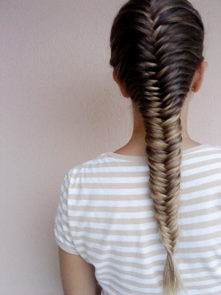 25 Best Ideas About Fishbone Braid On Pinterest Fish