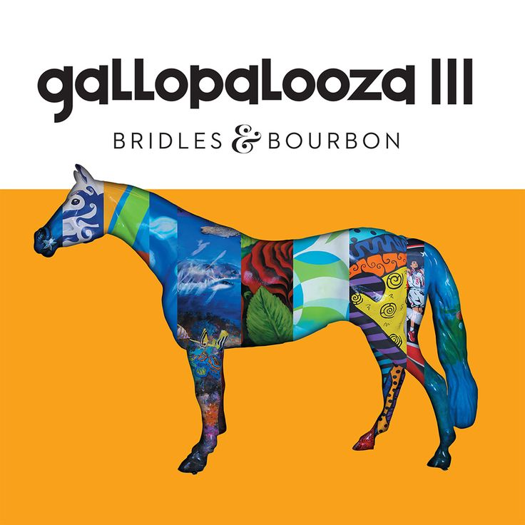 "Gallopalooza III: Bridles & Bourbon. Gallopalooza III was launched in 2015 with a theme of ""Bridles & Bourbon."" Six-foot-tall mint julep cups and smaller horses balancing on bourbon barrels have now been added to the much-loved traditional horse statues on display around the city of Louisville. This is the third volume in the colorful set of commemorative books produced to capture the images and the spirit of Louisville's popular and highly successful public art program."