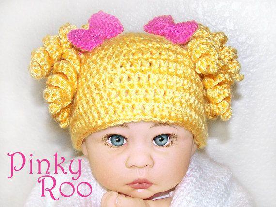Crochet Baby Hat Goldilocks Girl