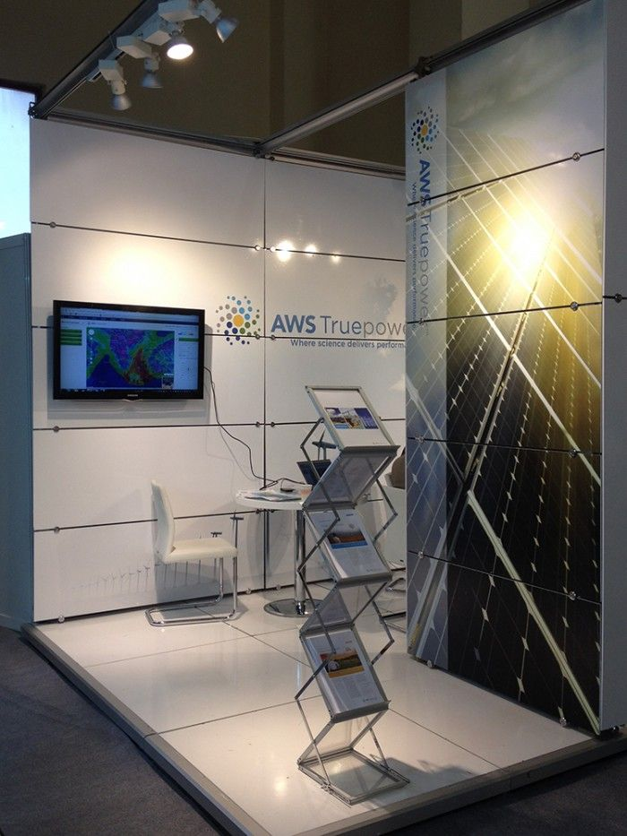 AWS True Power - ICCI İstanbul Exhibition stand.