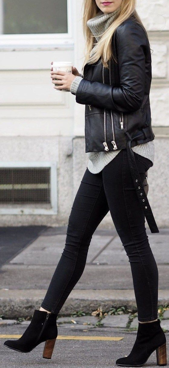 #Ankle #Boots #Length #Outfit #Rock #Womens     style ankle length boots with casual wear