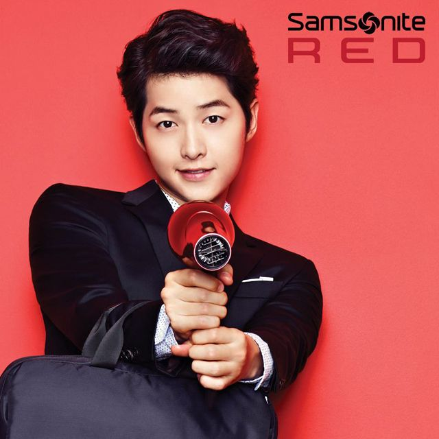 SONG JOONG KI FOR SAMSONITE RED'S F/W 2013 AD CAMPAIGN
