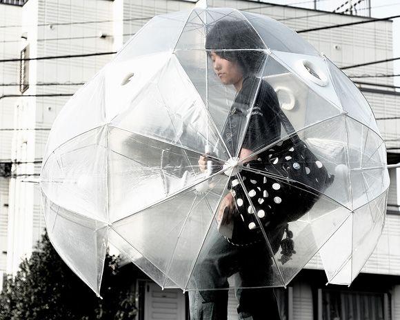 super paraguas definitivo 360 grados  paraguas  hecho de 6 paraguas