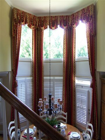 Images of two story curtains blinds drapes curtains two for High end curtains and window treatments
