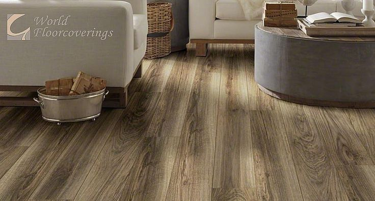 Believe or not, this flooring is vinyl! It can be a more cost-effective alternative to other flooring options. [Featured: Resilient x Sabine Hill Plus]