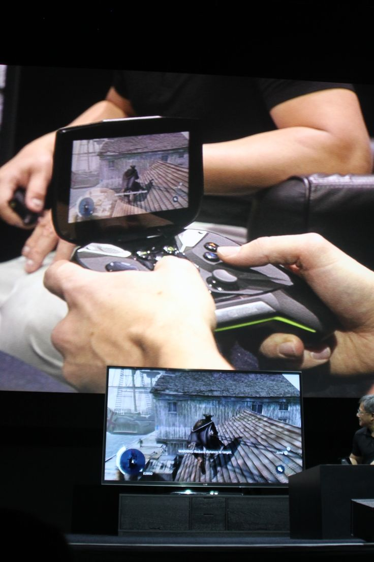 "Nvidia dives into the portable console market with ""Project Shield"""