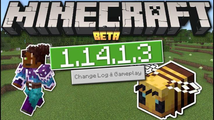 Minecraft Bedrock 1.14.1.3 BETA Update OUT NOW ! Creator