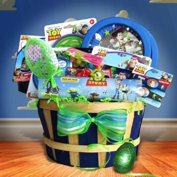 65 best gift baskets for kids images on pinterest auction ideas toys story easter gift baskets for kids list price 4499 savings na negle Images
