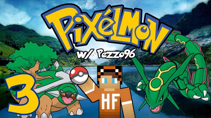 Pixelmon ITA #3 - Torterra e Rayquaza! D:
