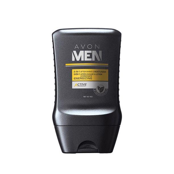 Energizáló áploás férfiaknak! Az Avon Men Energizing 2 az 1-ben borotválkozás utáni balzsam és hidratáló krém mentol