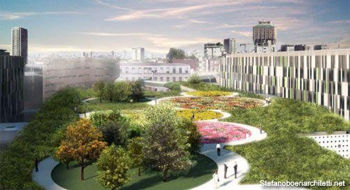 Il nuovo Policlinico di Milano avrà un giardino terapeutico sul tetto – Nicola Noe
