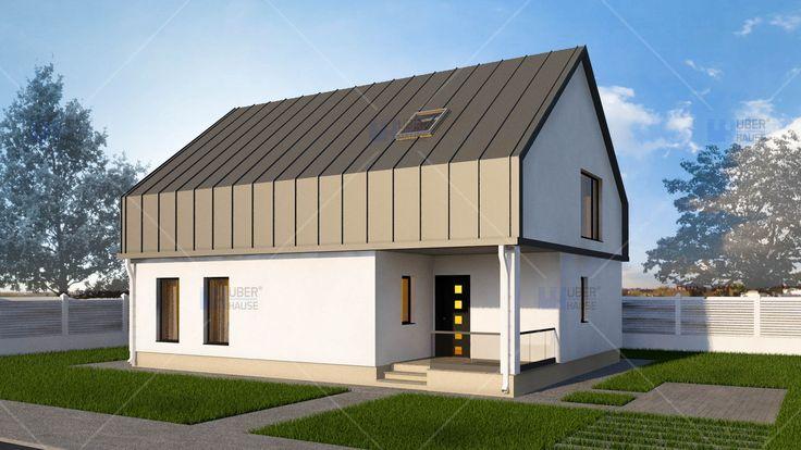 Proiect casa parter + mansarda (138 mp) - Vendra. Mai multe detalii gasiti aici: https://www.uberhause.ro/proiect-casa-parter-mansarda-138-metri-patrati-vendra