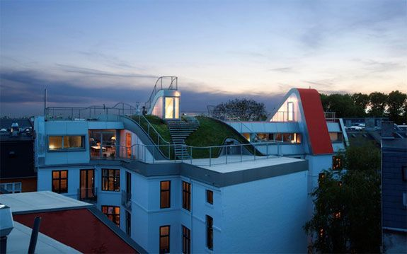 Cool Architecture: Rooftop Playground, Copenhagen by JDS Architects