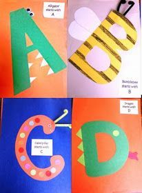 Last year my students made their own Alphabet Books. Each time we had ...