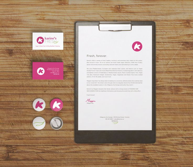 Branding Refresh for Karine's Fresh
