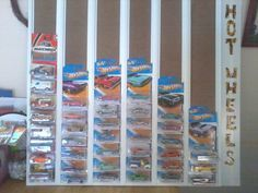 Picture of Hot Wheels Display Board