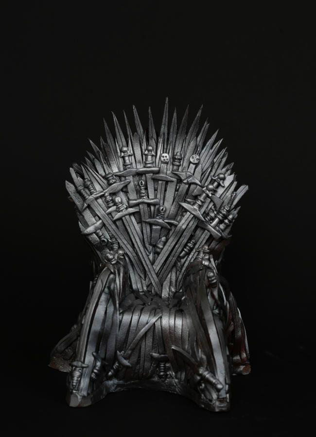 Game of Thrones throne by Olga Danilova