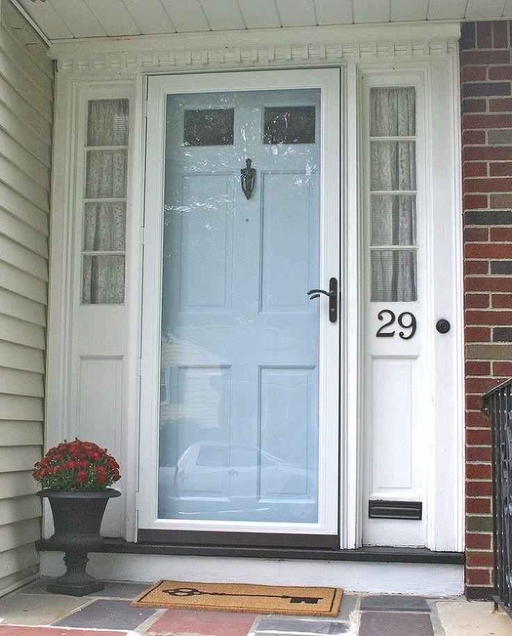 Updating your exterior hardware for six dollars... Door IdeasPorch  IdeasFront ...