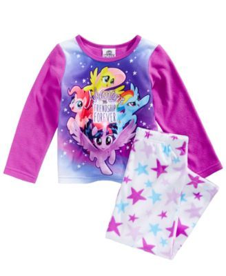 fbef94d2e My Little Pony 2-Pc. Adventure and Friendship Pajama Set, Toddler Girls  (2T-5T)