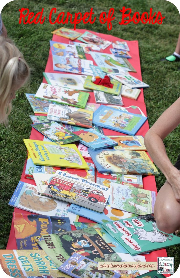 How to host a books swap at your own school.  Lots of pictures with ideas how to set up and conduct the swap at school or at home.