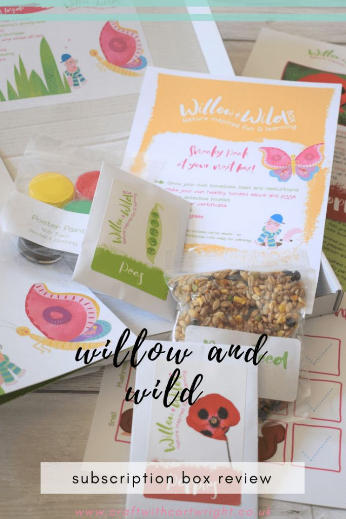 Willow and Wild Subscription Box Review - Craft with Cartwright