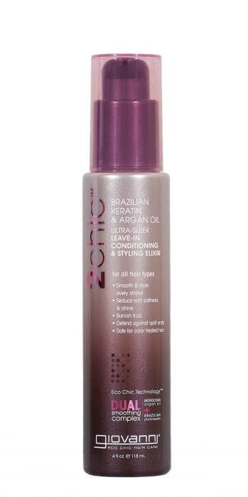 New favorite hair product from Giovanni: Brazilian Keratin and Argan Oil Treatment