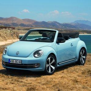 The new Volkswagen Beetle Cabriolet -