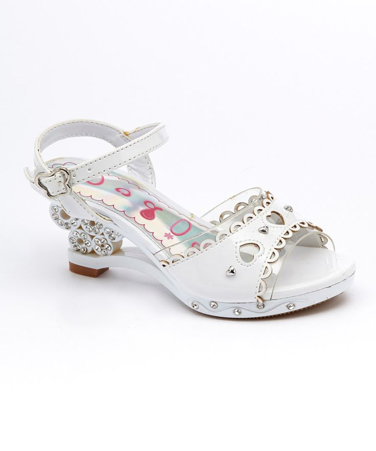 Look at this Modit White Star Sandal on #zulily today!