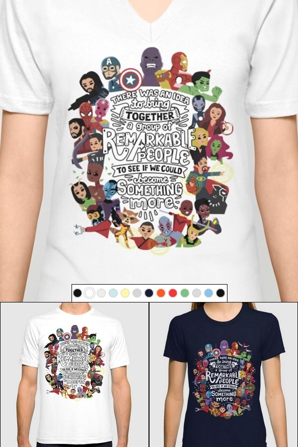 f2da5e65f Avengers: Infinity War Quote T-Shirt │ Marvel T-Shirt │ Get this awesome  fandom T-Shirt with art from wonderful Risa Rodil. │ Marvel Fandom Fashion  ...