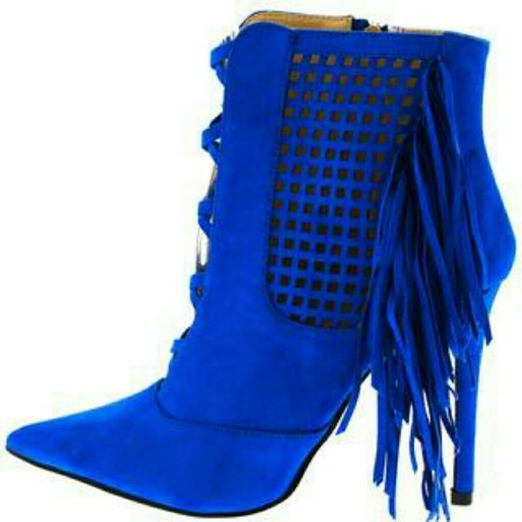 1000  ideas about Blue Ankle Boots on Pinterest | Blue boots ...