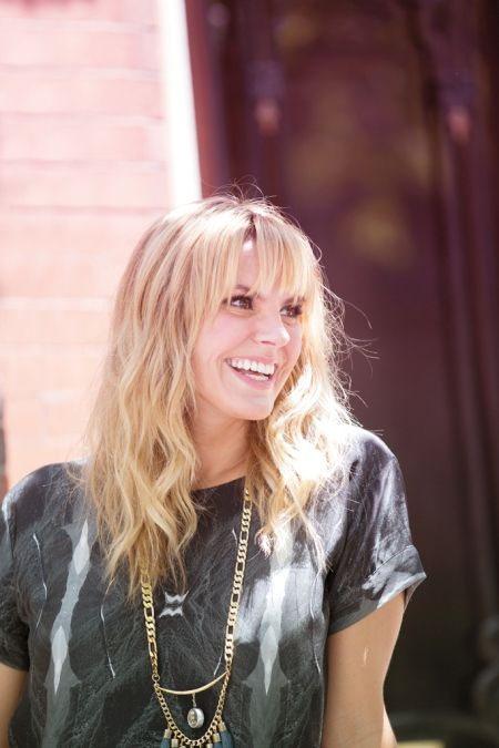 Grace Potter is touring and venturing into the world of fashion, creating a collection to incorporate into her tour wardrobe.