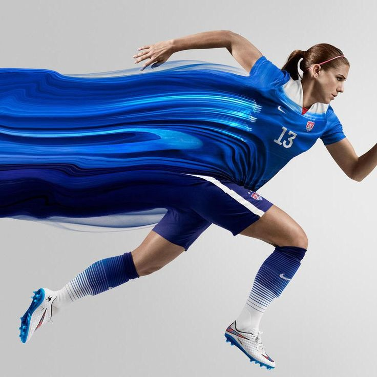 Nike Women's USA Away Stadium Jersey 2015 - Game Royal / Loyal Blue - Alex Morgan - Women's Soccer