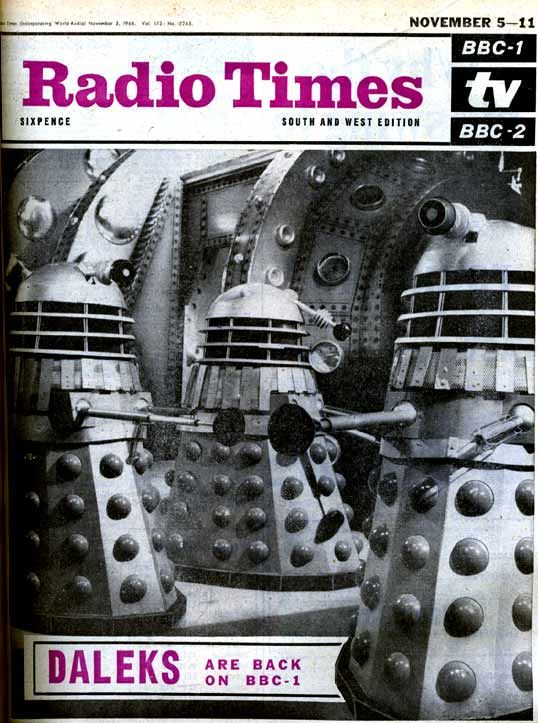 "Cover for ""Power of the Daleks"""