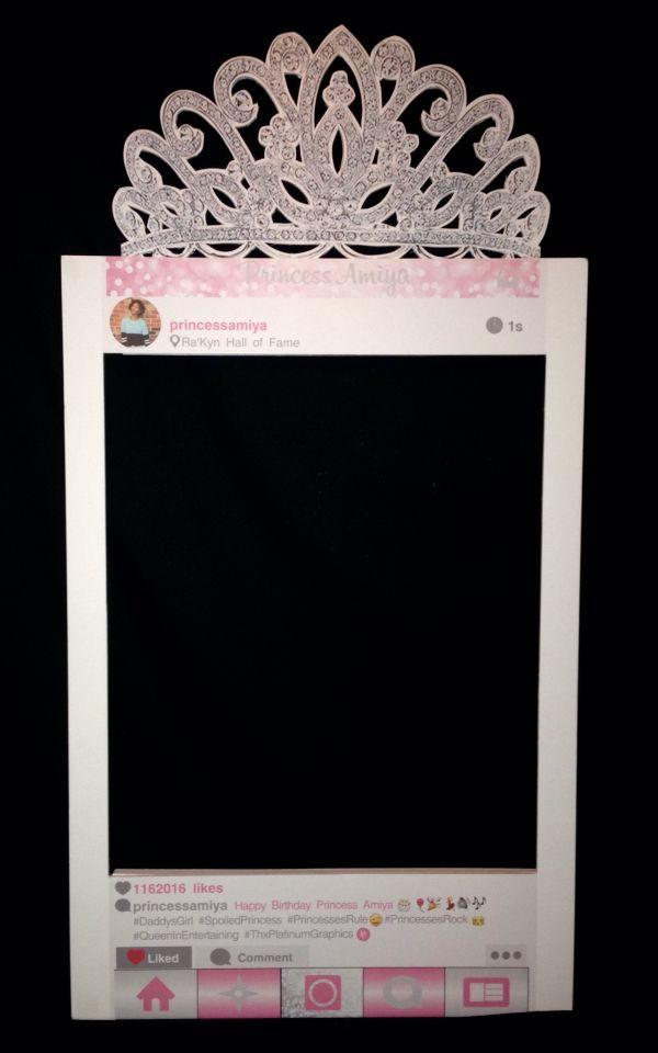 Instagram Frame Selfie Frame Ig Board Poster Photo