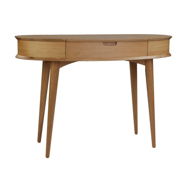 Orbit Dressing Table with Mirror - Matt Blatt