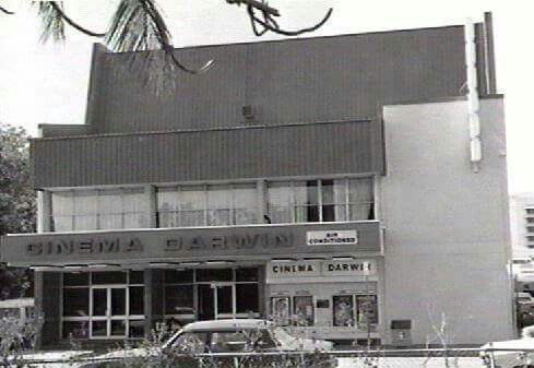 Cinema Darwin 1985. Is now Monsoons Restaurant and Bar.