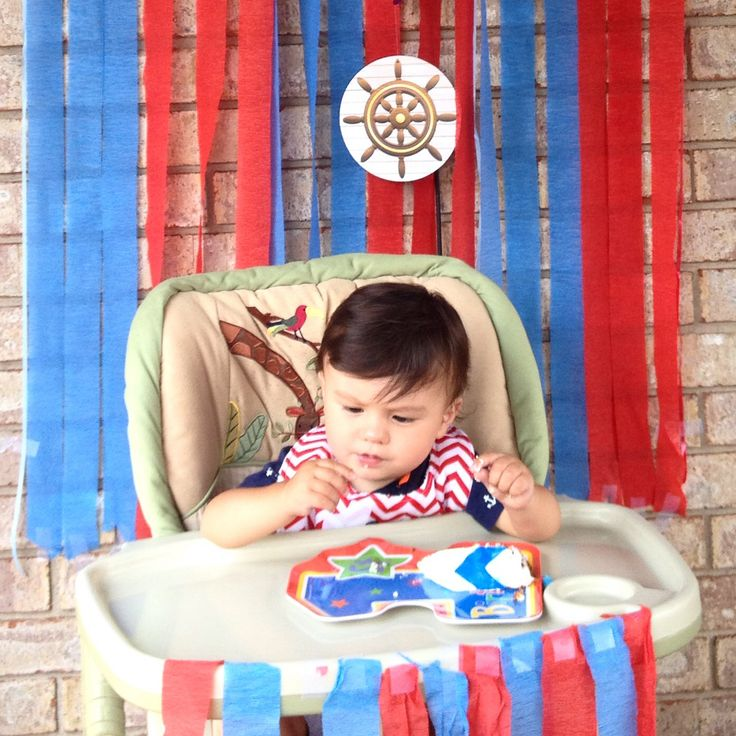 Dylan's first birthday, nautical theme #mommyimoments