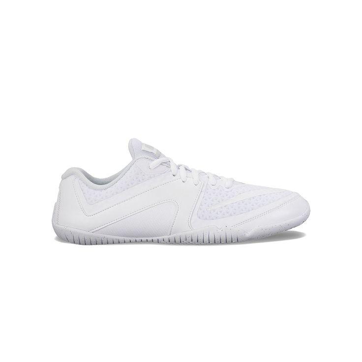 Nike Cheer Scorpion Women's Cheerleading Shoes, Size: 6.5, White
