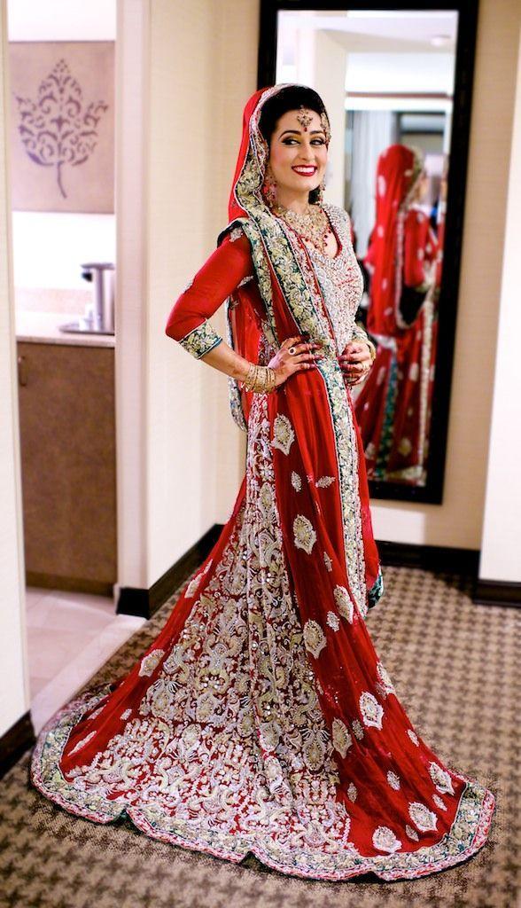 Pakistani Bridal Lehenga Dresses Designs & Styles 2016-2017 | StylesGap.com