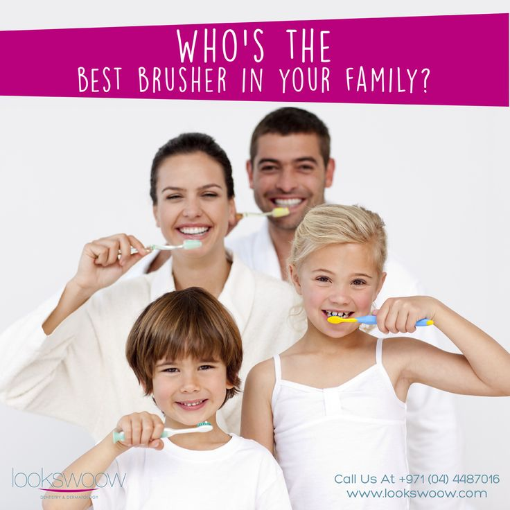 """Who is the """"model brusher"""" in your home? Modeling good"""
