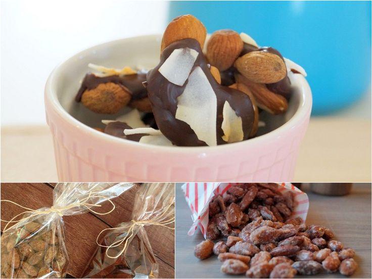6 gode opskrifter på snack-mandler.