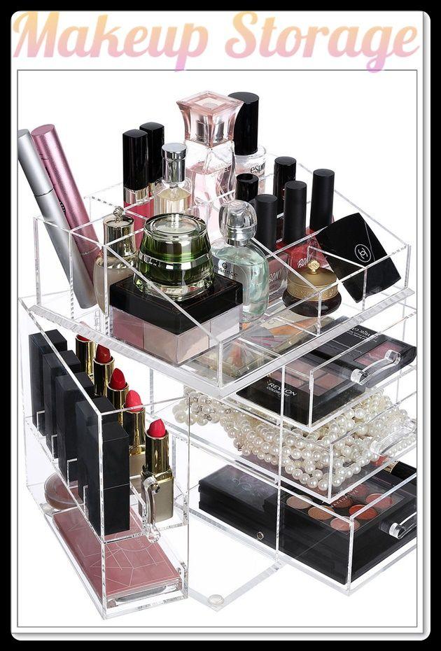 9 Organize And Store Your Makeup Makeup Storage Makeup Storage