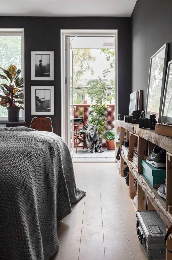 Dark Gray Scandinavian Interior Design Scandinavian Design Blog