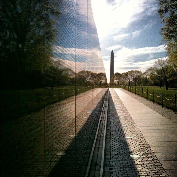 Vietnam Veterans Memorial in Washington DC, D.C.-  International Honeymoon Packages   www.uhpltd.com   Universal Holidays Private Limited - Chennai,India.