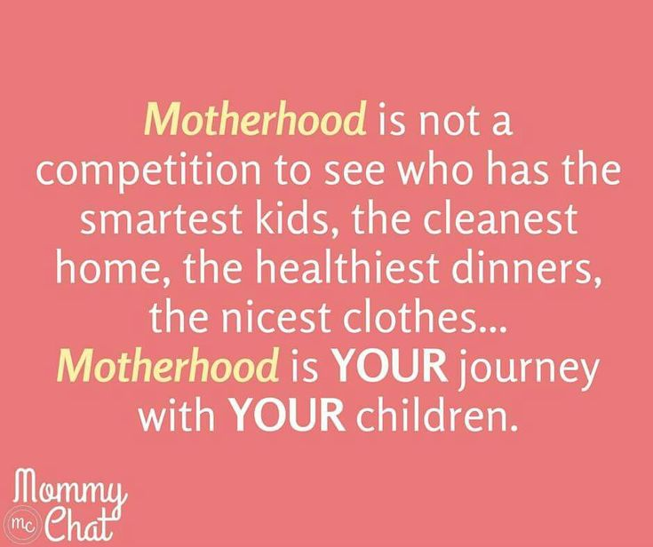 Motherhood is your journey with your children.