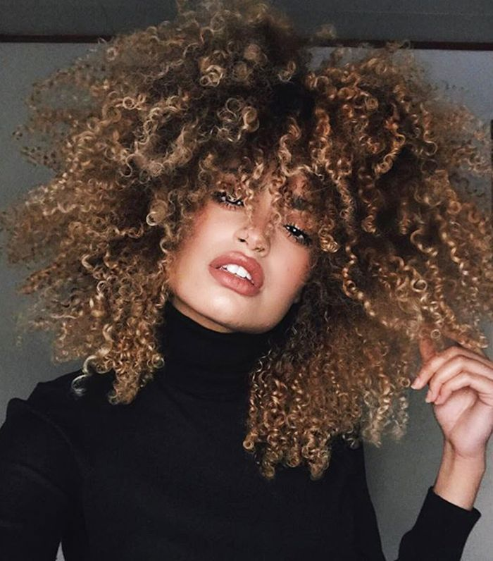 Natural Finish Curly Hair Styles Naturally Natural Hair Styles Ombre Curly Hair