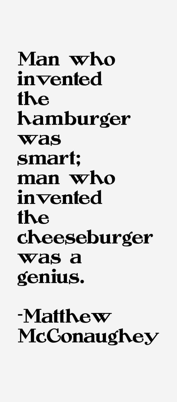 """On food (yes, FOOD!) 