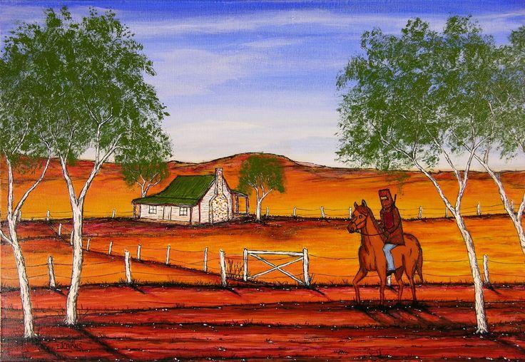 """Ned Kelly"" Original Painting"